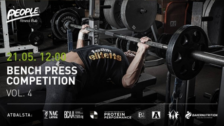 Bench Press Competition. Vol. 4