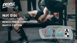 Bench Press March Competition