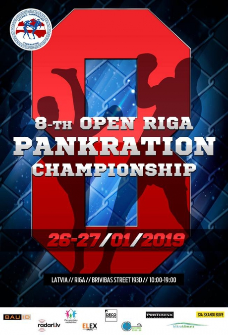 8-th open riga pankration chmpionship